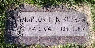 Marjorie Bernice Beed Keenan (1909-1997) - Find A Grave Memorial