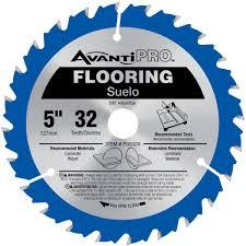 avanti pro 5 in x 32 teeth wood and laminate flooring saw blade