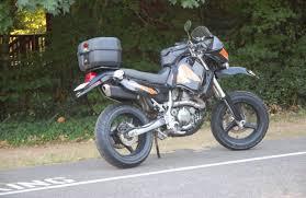 confused klr 2005 2008 kawasaki klr650 supermoto bike urious