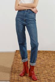 High Rise Mother Jeans