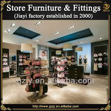 modern retail furniture. modern retail underwear shop interior decoration furniture with bra display rack and lingerie stand
