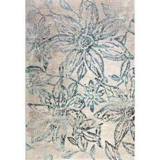 fusion fl blue grey 7 ft x 10 ft indoor area rug