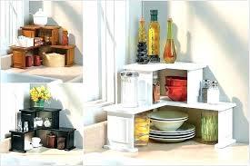 corner counter shelf kitchen inside countertop shelves plan 4
