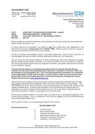 Housekeeping Supervisor Resume Template Resume Builder Hospital