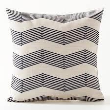 stripe outdoor pillow trimaran stripe denimivory indooroutdoor