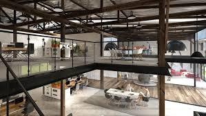 warehouse office space. 4 Converted Warehouse Office Space Ideas Your Employees Will Love