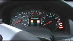 2008 Chevy Equinox Dash View & Cold Start - YouTube