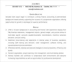 Objective Accounting Resume It Resume Objectives Resume Accounting ...