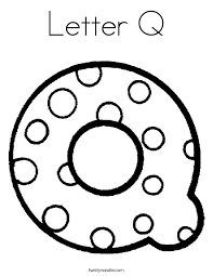 letter q coloring pages