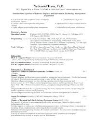Engineering Resume Samples For Freshers To Fresher Software Engineer