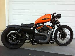 harley sportster bobber riding vid youtube