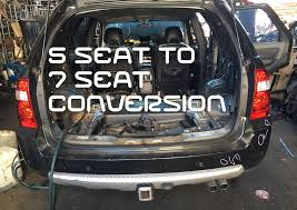 5 seat to 7 seater territory conversion