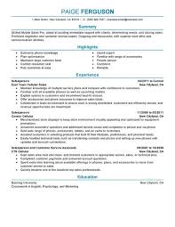choose resume example for sales associate