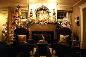 Christmas Decorating Ideas Fireplace Mantel Without Photos