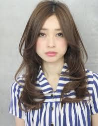 センターパートロング髪型ke 219 ヘアカタログ髪型ヘア