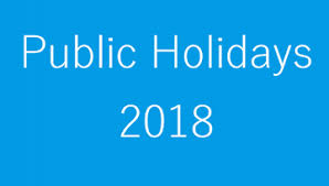 Image result for Bank Holidays List 2018 For All States
