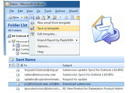 outlook mail templates use microsoft outlook reply with template add in to create your