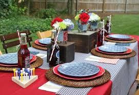 USA Table Setting