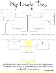 Family Tree Template Free Download Download Family Tree Template A Free Genealogy Chart Blank