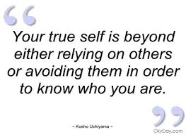 True To Yourself Quotes And Sayings Best of Quotes About True To Self 24 Quotes