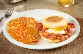 Item Loaded Breakfast Sandwich Dennys