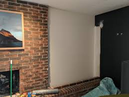 opinion cover rough brick corner with trim or leave as is