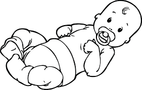 baby shower coloring pages baby shower coloring pages infant simple boy page and for top abc