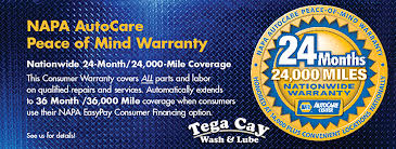 24 month warranty napa auto parts autocare center
