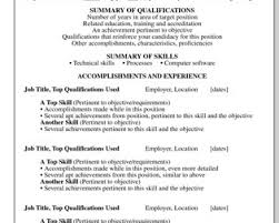 Key Qualifications In A Resume Free Resume Example And Writing