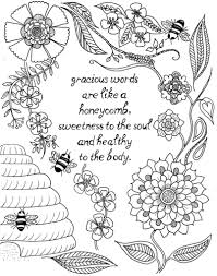 Most of these pages are too challenging for little ones. Coloring Quotes Coloring Rocks