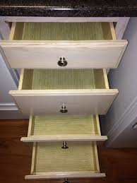 Bamboo Cabinets Kitchen Faux Bamboo Liners For Kitchen Drawers Cabinets Decorating