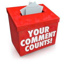 Public Comments Welcome