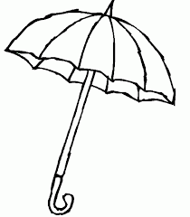 Small Picture Coloring Pages Umbrella Coloring Home