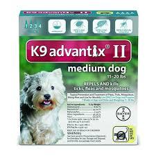 K9 Advantix Ii 11 20 Lbs 4 Month Supply Teal