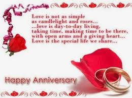love card happy anniversary wish