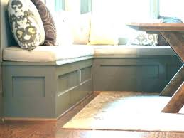 l shaped storage bench kitchen benches with nook throughout decor diy