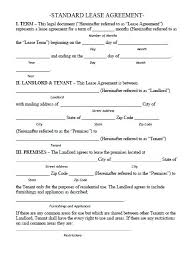 Rental Application Form Word Document Free Lease Agreement Forms ...