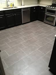 Floor Tile Paint For Kitchens Kitchen Stunning Light Green Kitchen Decoration Using Oak Wood
