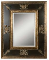extra large 60 ornate black gold wall