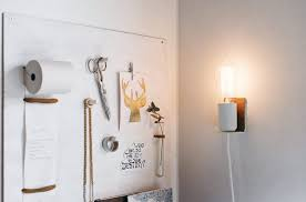 unique diy lighting. Small DIY Wall Lamp With A Touch Of Leather Unique Diy Lighting