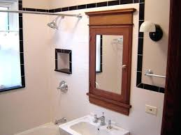 medicine cabinet with outlet.  With Mirrored Medicine Cabinet With Outlet To N