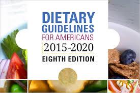 2015 2020 Dietary Guidelines Health Gov