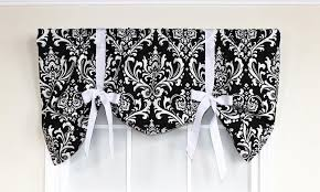 Damask Tie Royal Damask Tie Up Valance Rlf Home