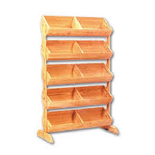 Picture Display Stands Best 32 Tier Wood Barrel Display Stand Produce Display Rack Wooden