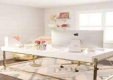 meagan home office. Lovely Chic Office Decor Stylish Meagan Wardu0027s Girly Home {office Tour | B