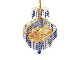 elegant lighting spiral royal cut gold three light 14 wide mini chandelier