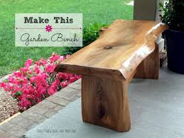 Small Picture DIY Garden Bench YouTube