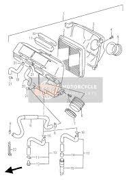 suzuki rfr spare parts msp air cleaner for 1995 suzuki rf900r