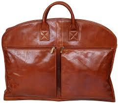s babila top grain leather soft garment bag suiter suit carrier dress case travel case