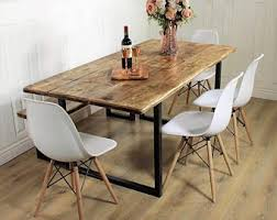 rustic dining table and chairs. Rustic Dining Table Etsy Intended For Prepare 2 And Chairs R